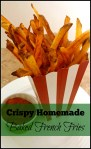 Crispy Homemade Baked French Fries