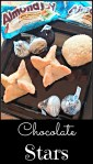 Chocolate Stars Pie Crust Cookies