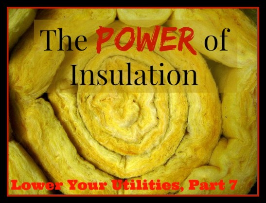 Lower Your Utility Bills Insulation