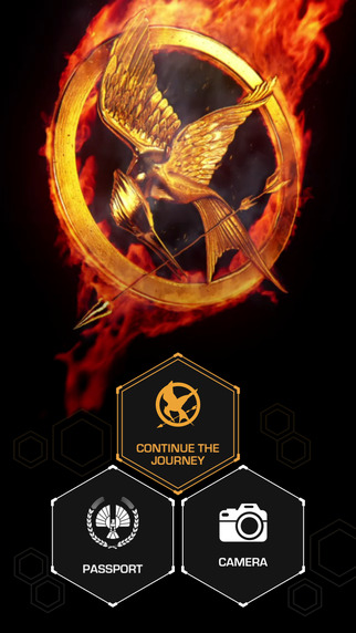 Hunger Games Exhibition App