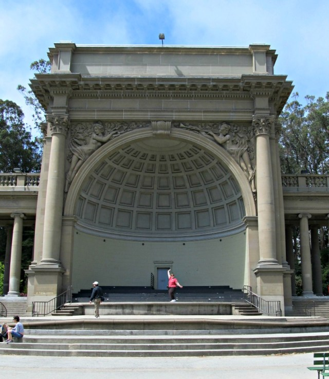 Music Concourse Golden Gate Park