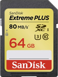 SanDisk Extreme Plus digital imaging