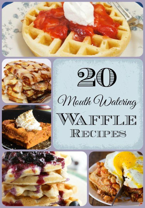 20 Waffle Recipes