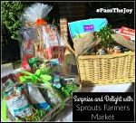 #PasstheJoy with Sprouts Farmers Market