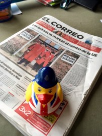 It has been interesting to follow the Brexit from Spain, being able to read the papers from a country that belongs to the rejected union.