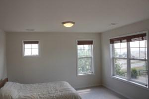 Bedroom 3 with walk-in closet