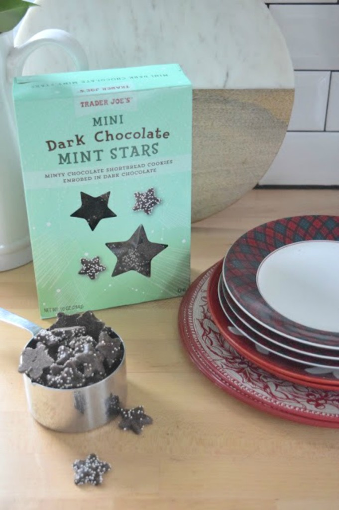 Mint Star Cookie Recipe with Trader Joe Stars