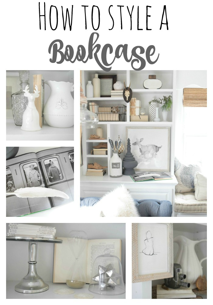 Bookcase and art styling tips