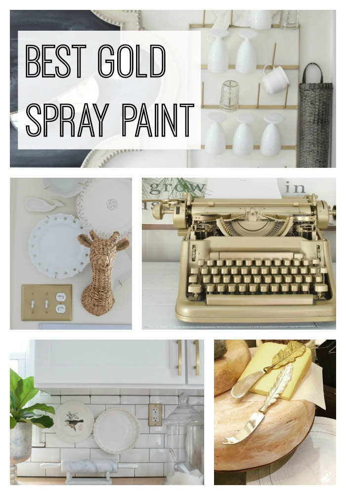 Best and favorite gold spray paint