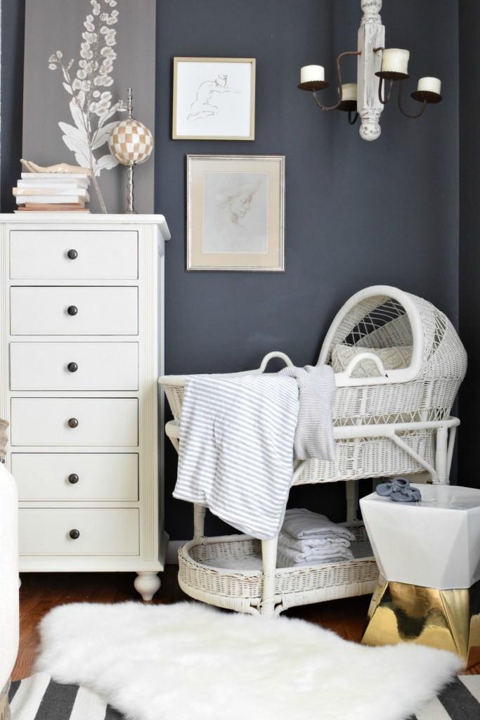 baby bassinet pottery barn nursery ideas
