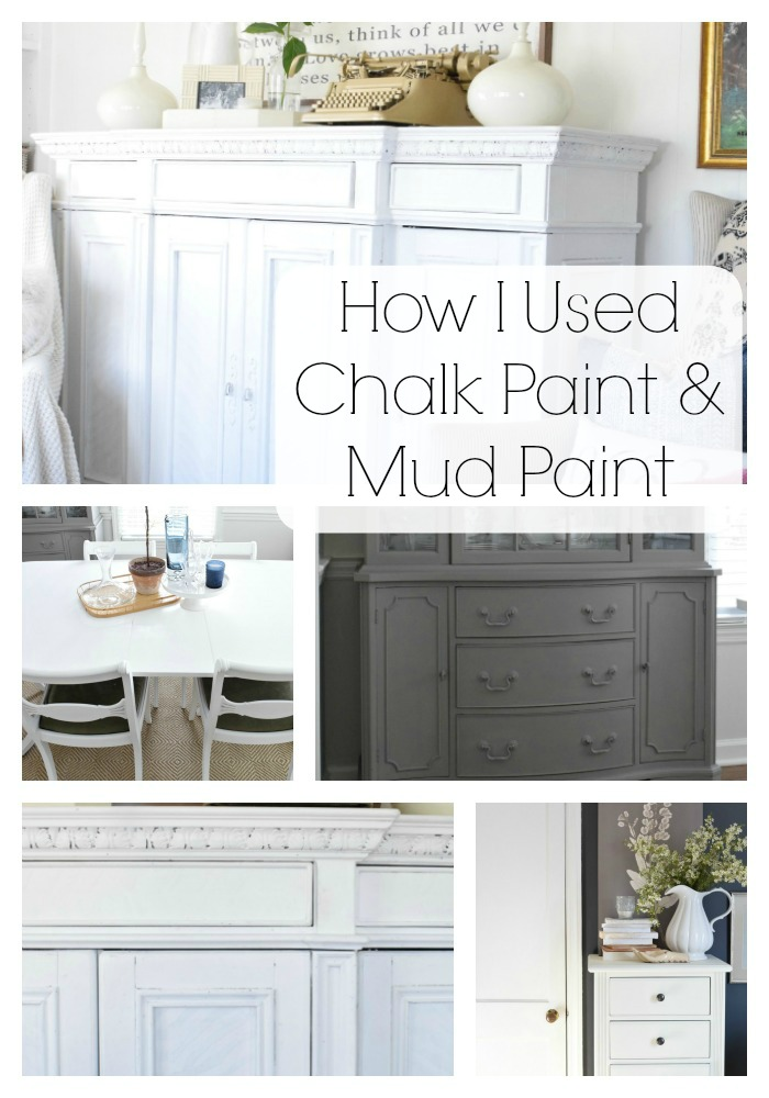 Chalk Paint and Mud Paint Tips and Tricks