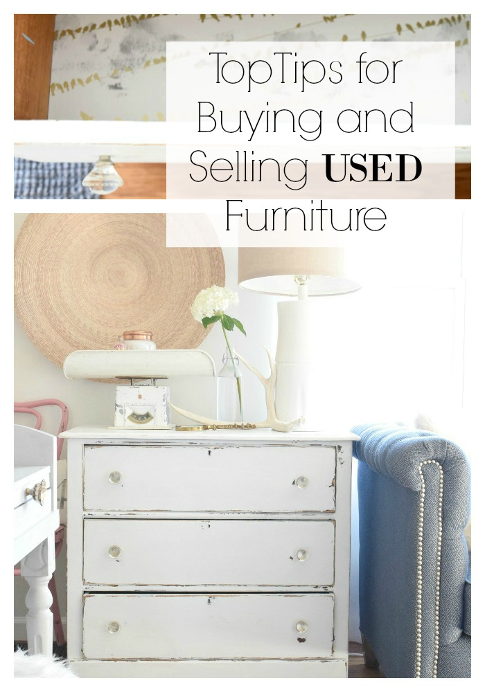 Tips for buying and selling used furniture