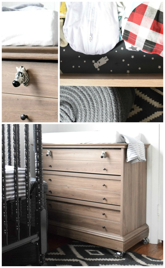 baby boys nursery changing table