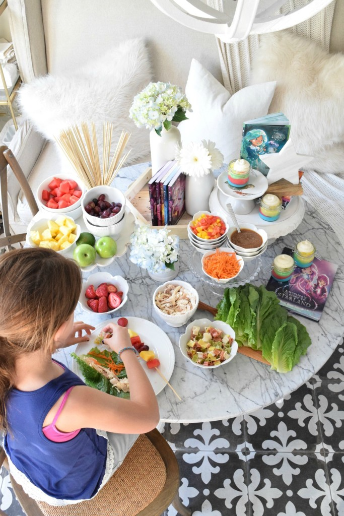 Disney Star Party Ideas and Healthy Dinner Recipe