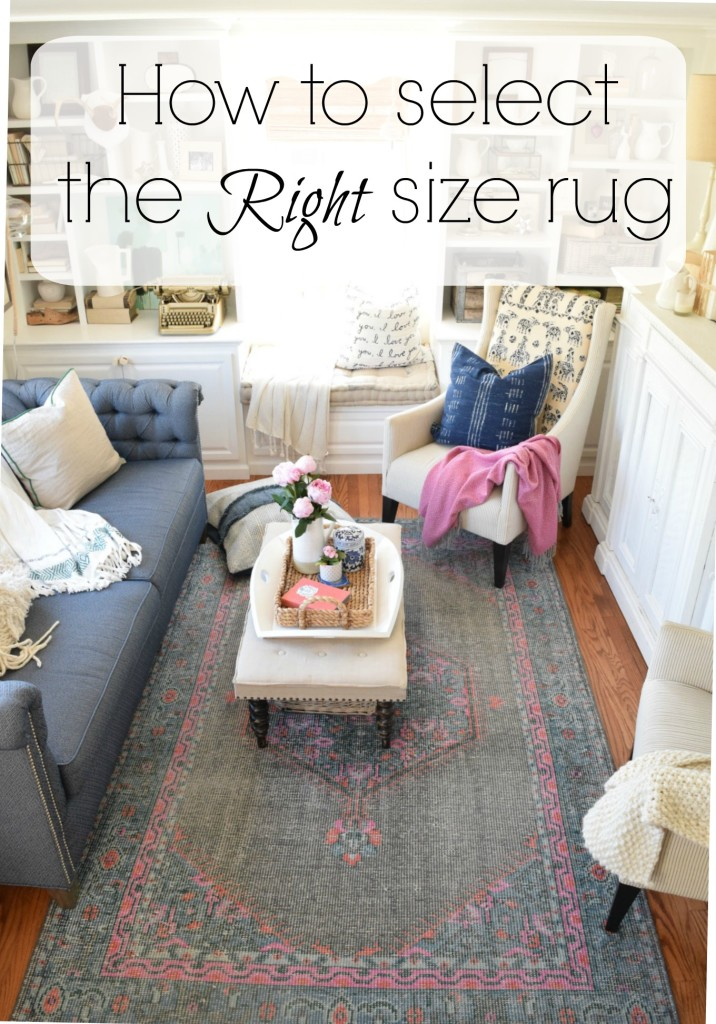 How To Pick The Right Size Rug Nesting With Grace