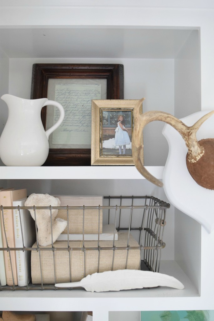 Summer Home Tour and Bookcase styling
