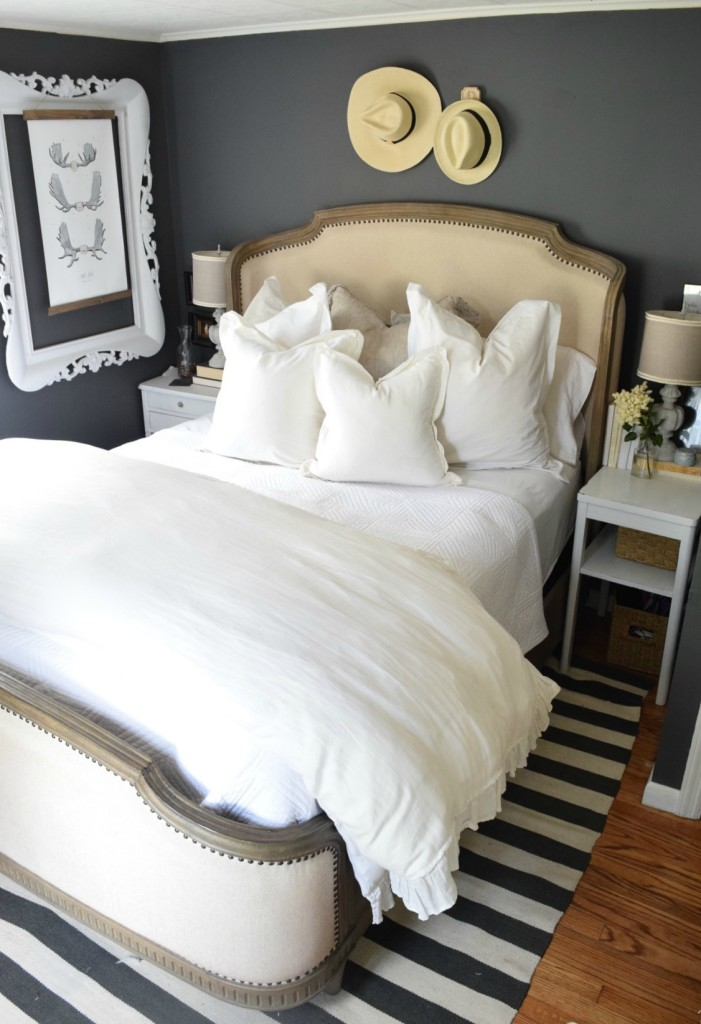 Summer Home Tour Master Bedroom updates