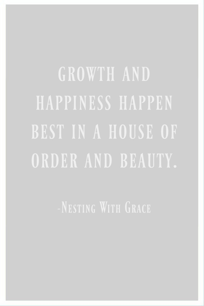 Quote on making house a home
