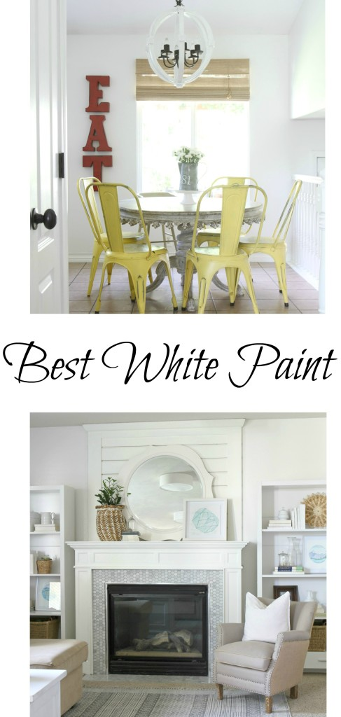 Best White paint for an entire house