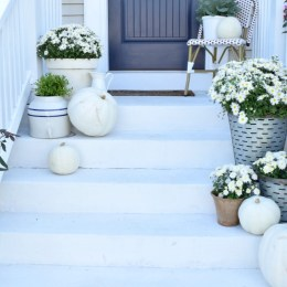 Fall Ideas for Front Porch and Eclectic Fall Home Tour