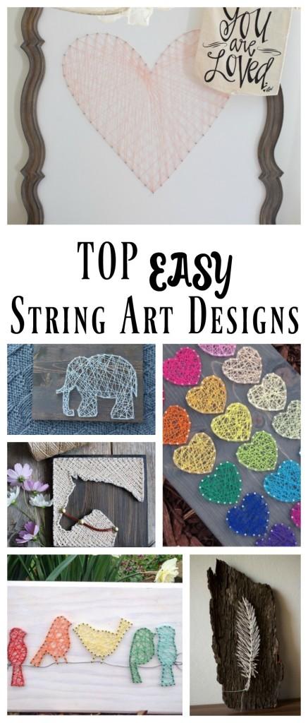 Top Easy String Art Design Ideas