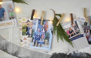 Christmas Cards Ideas and Favorite ways to display them