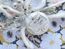 Homemade Christmas Gift Tags- Better than Salt Dough