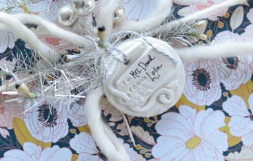 Homemade Christmas Gift Tags- Better than Salt Dough