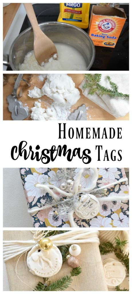 Homemade Gift Tags- Better than Salt Dough