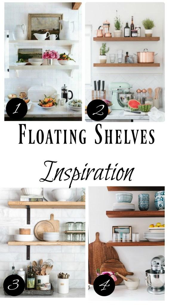 Banquette Seating- Floating Kitchen Shelves