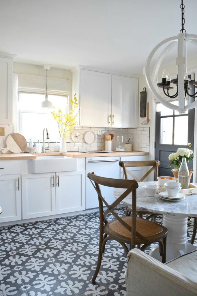 Most Popular Blog Posts of 2016- White Kitchen Remodel