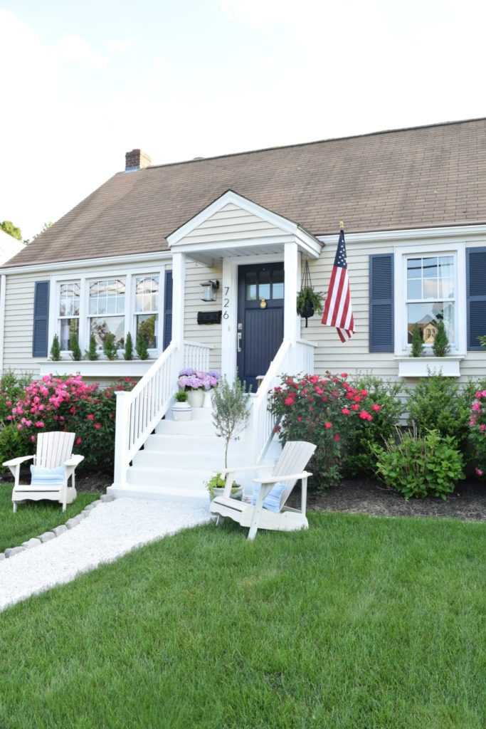 Most Popular Blog Posts of 2016- Curb Appeal White Porch Remodel