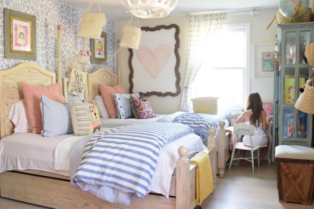 Most Popular Blog Posts of 2016- Summer Girls Bedroom