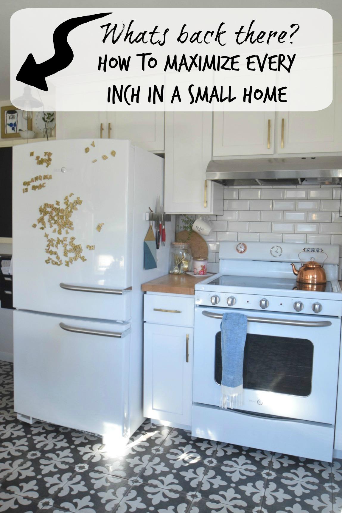 Small Kitchen  Organization Ideas