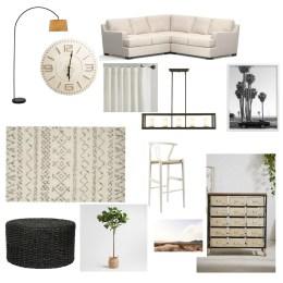 Family Room- Game Room- Design Plan
