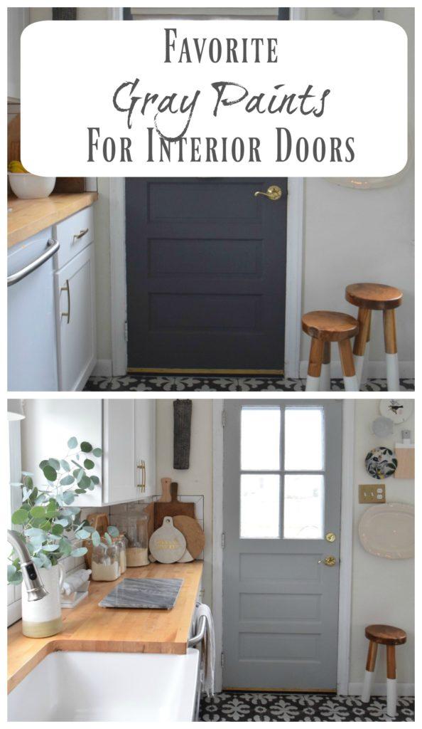 Gray Paints- For Interior Door