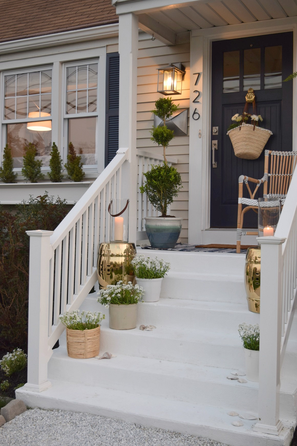Front Porch Ideas And Designing The Outdoors Nesting