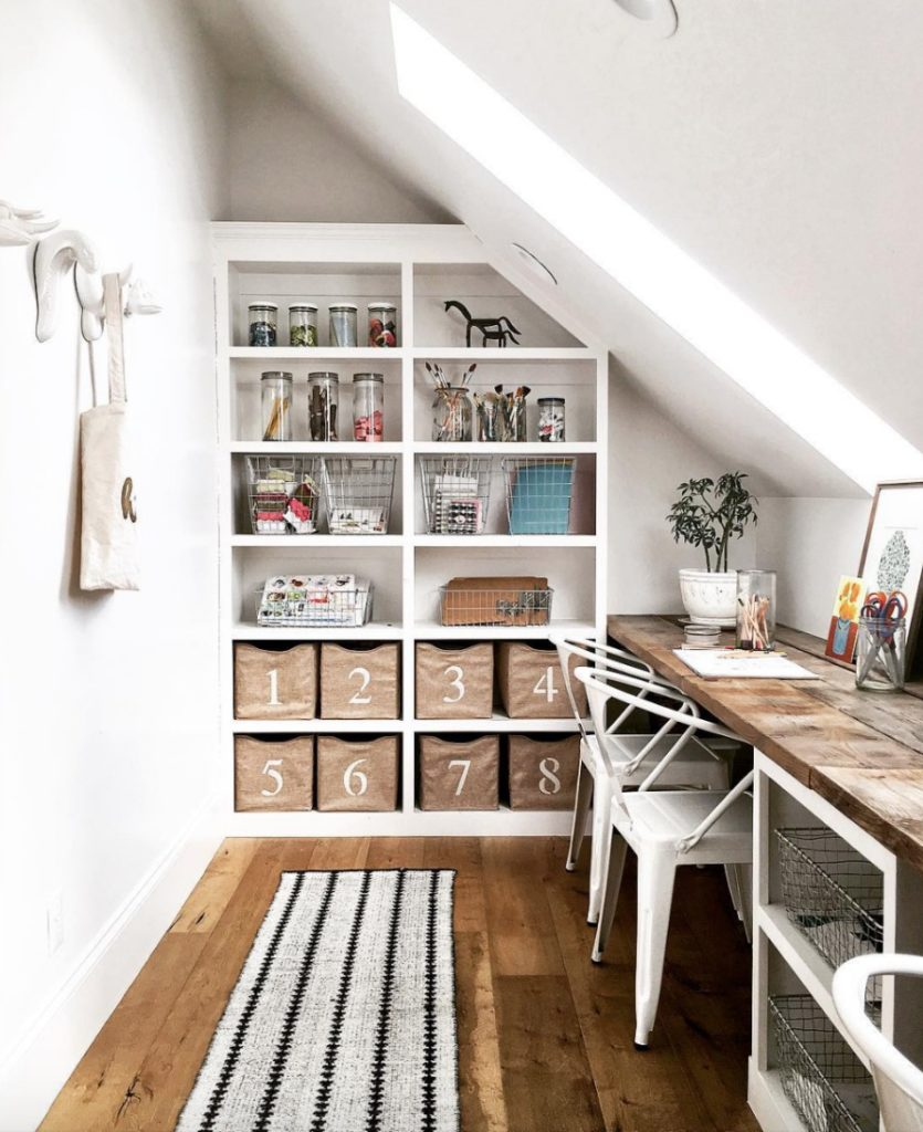 Home Tour- White Kitchen and Craft Space- Hawkes Landing