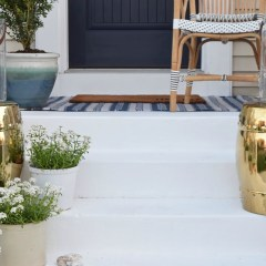 Painted Cement Steps and Top Favorite Painted Patios