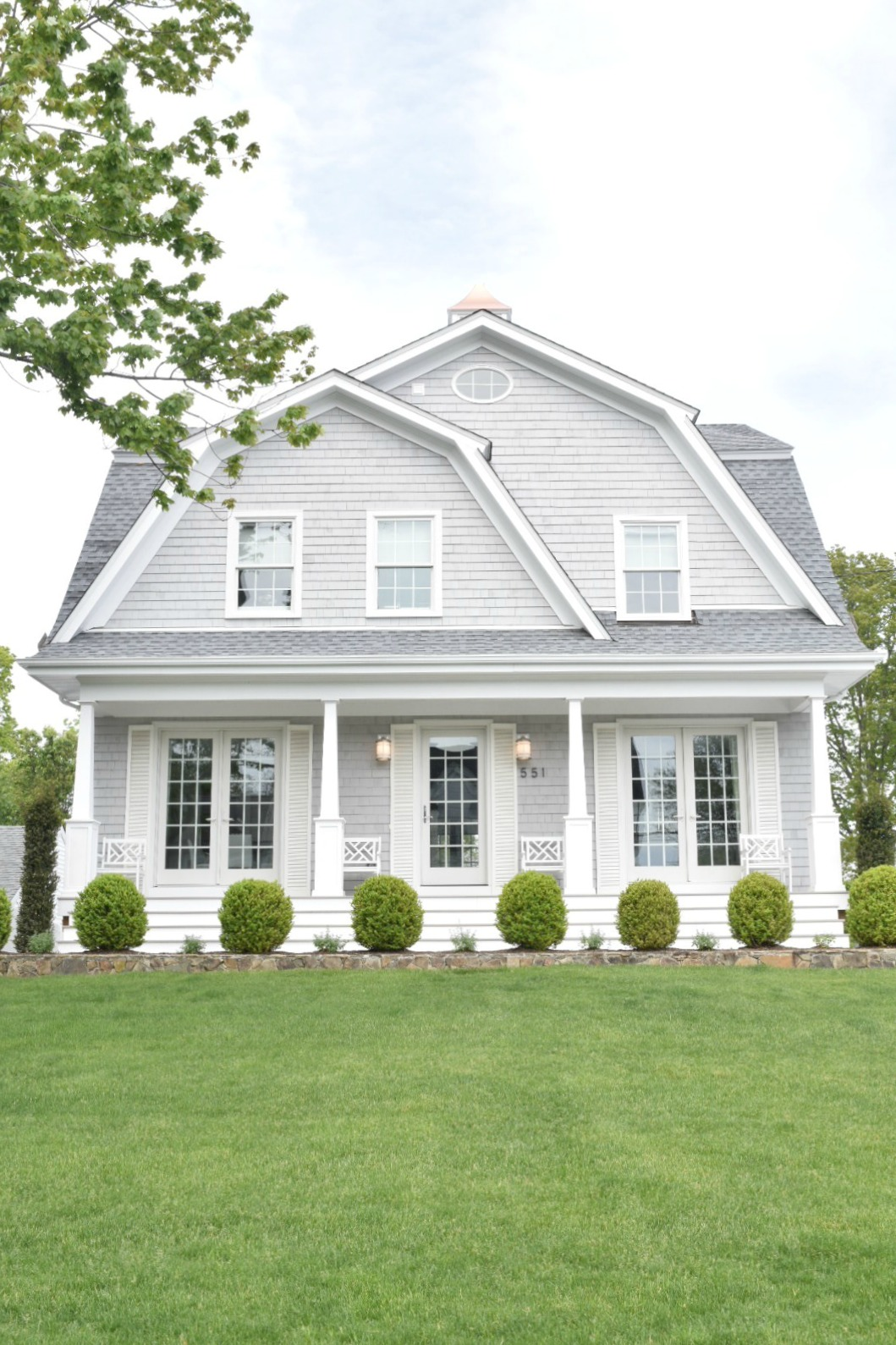 New England Homes- Exterior Paint Color Ideas - Nesting With ...