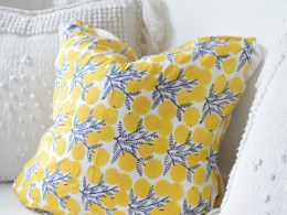No Sew Pillows- Easy DIY pillows out of napkins