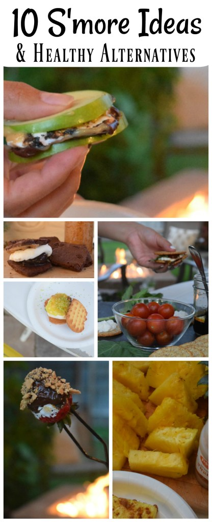 S'more Ideas- 10 S'more Ideas and some Healthy Alternatives