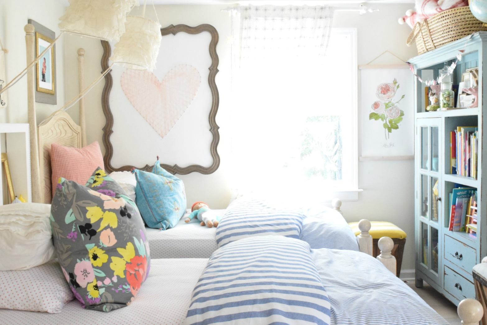 Summer Home Decor  Girls Bedroom  Home Decor Ideas