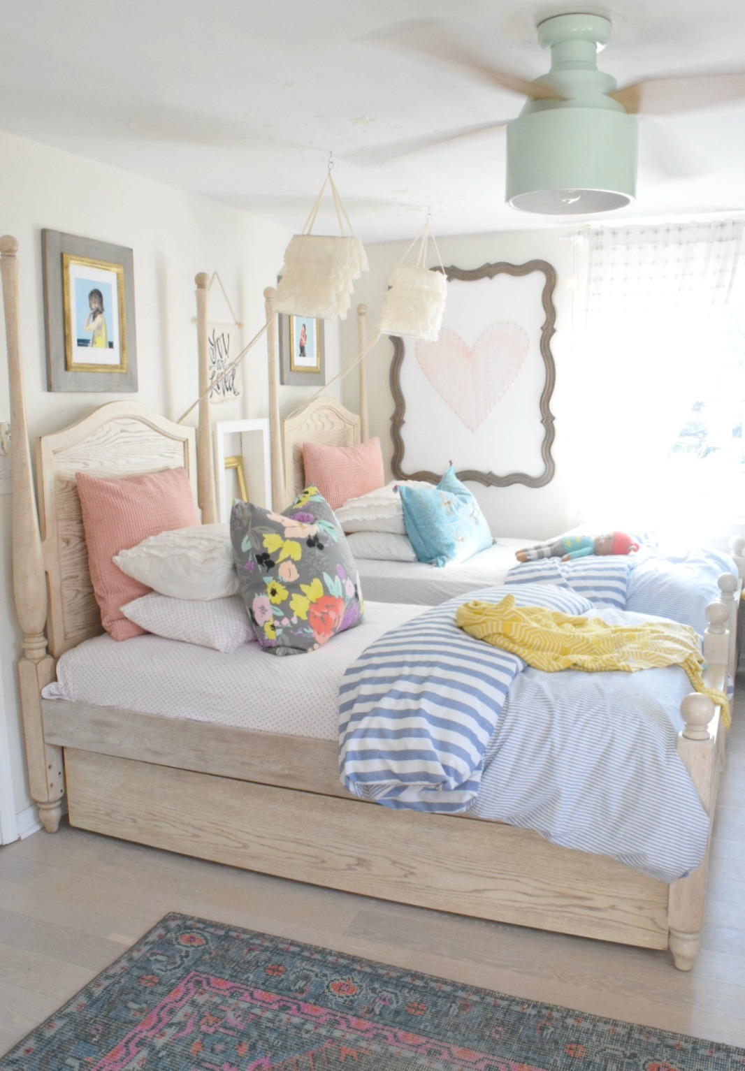 Summer Home Decor  Girls Bedroom  Home Decor Ideas
