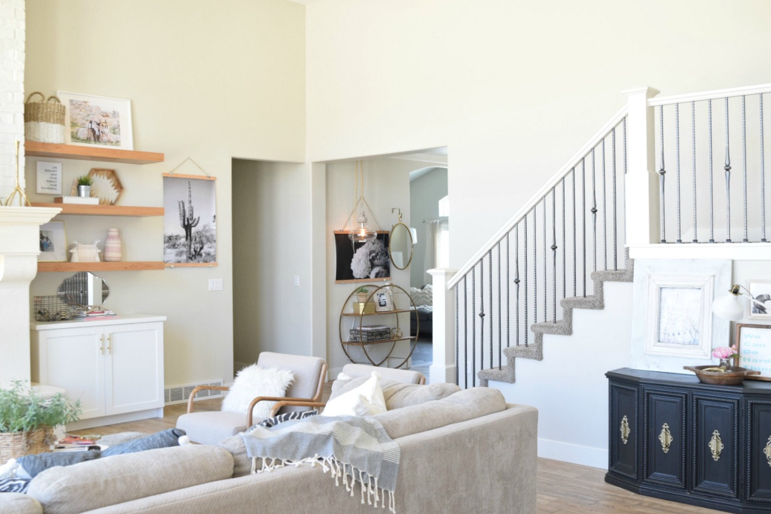 Take Home Designer Series- White Kitchen and Great Room - Nesting ...