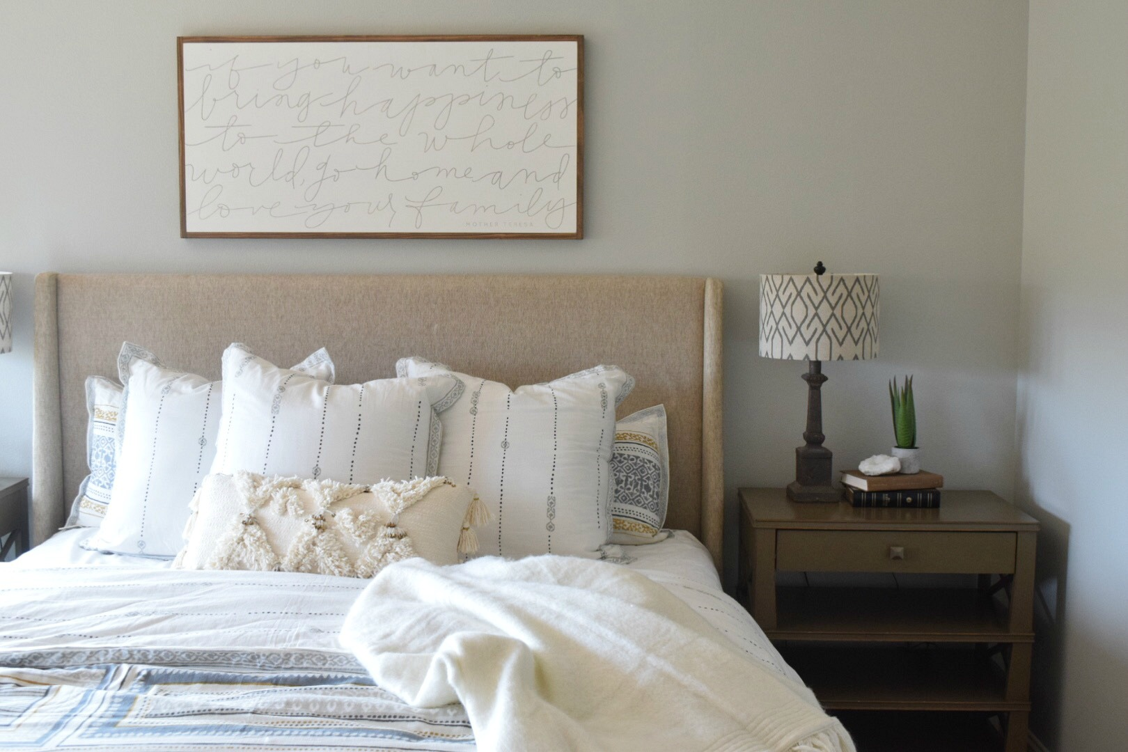 Modern Home Refresh With Simply White Paint Nesting With
