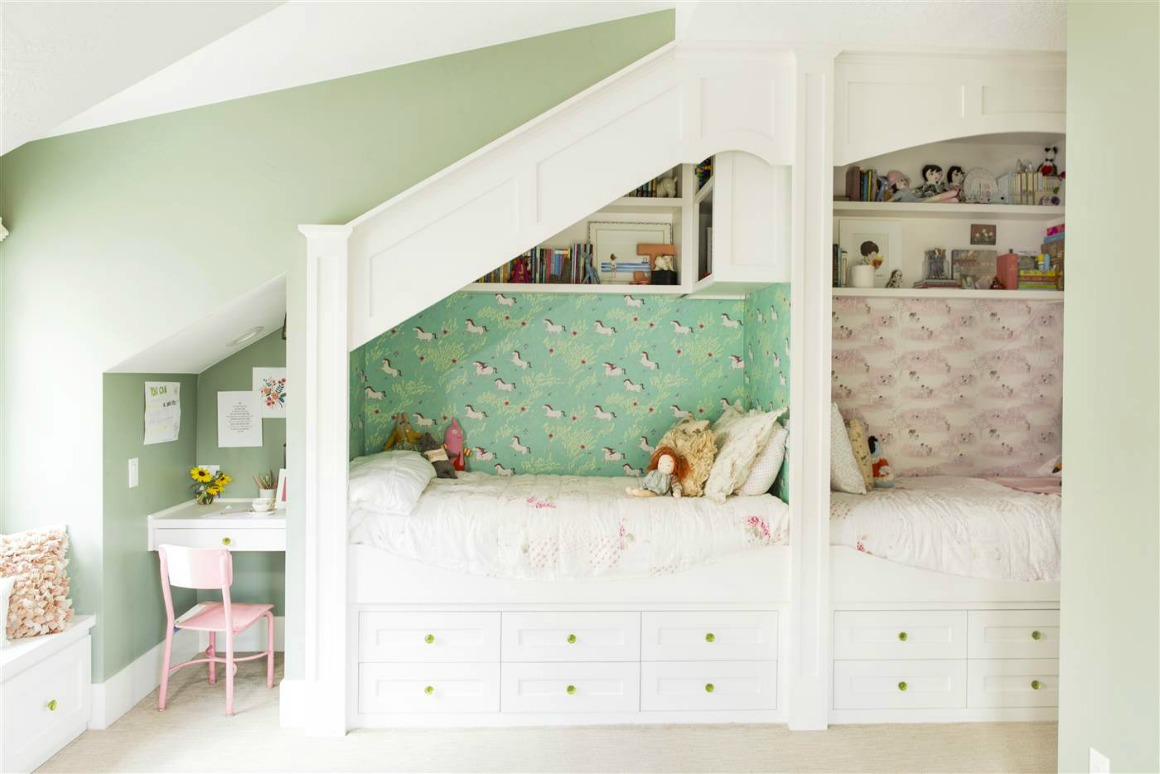 Home Tour Full of Purpose- Built-In Bunkbeds
