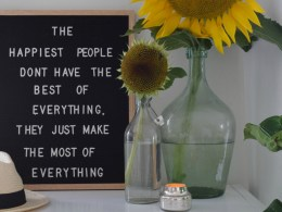 How to Make The Most of Everything