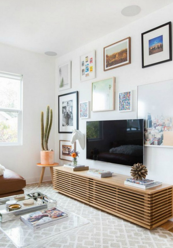 Tv Stand Designs Wall : Ask a designer series mistakes made to tv walls nesting with grace