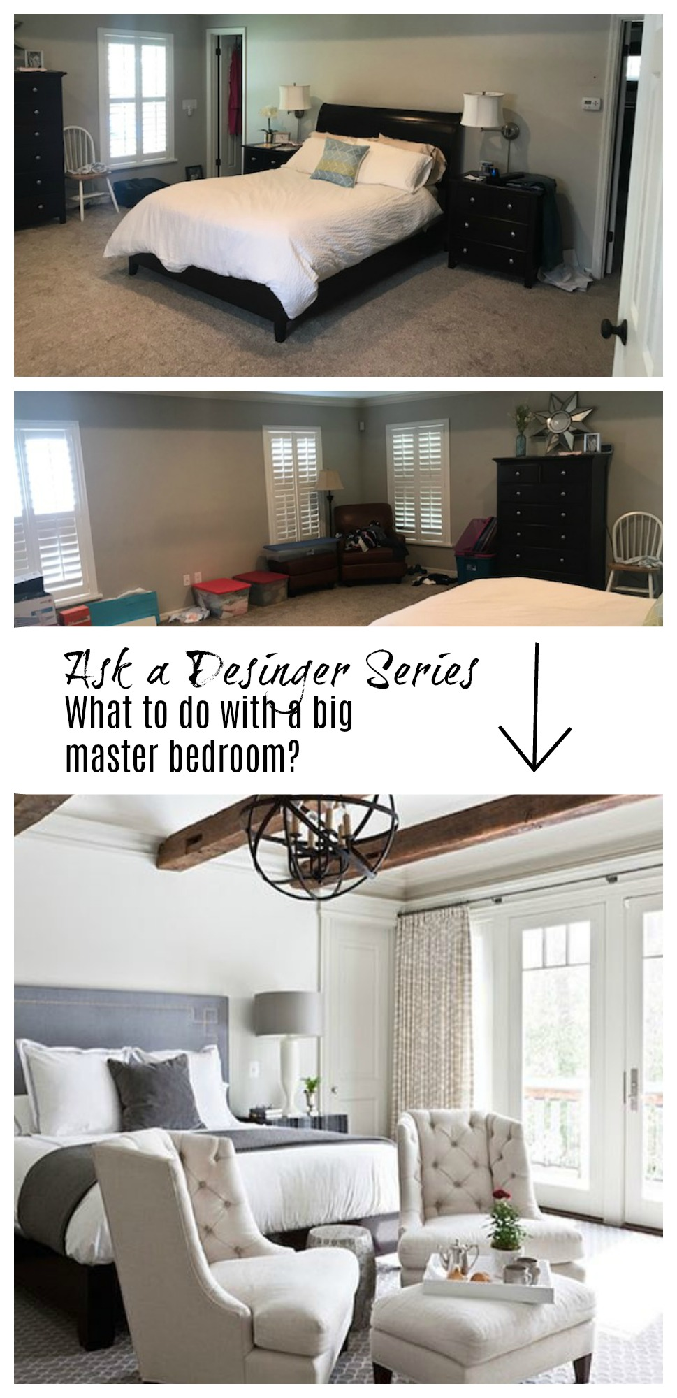Amazing Ask A Desinger Series  Where To Start In A Large Master Bedroom?